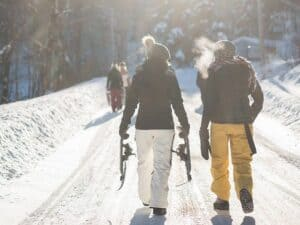 beheizte Kleidung Skiurlaub